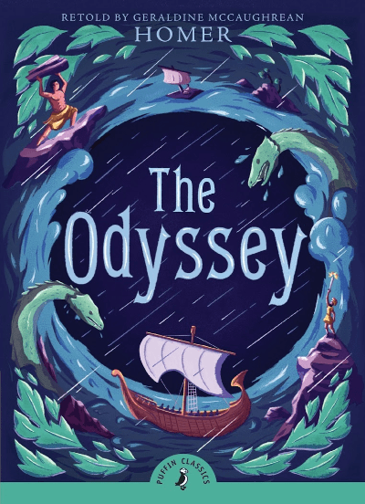 cover of book they odyssey