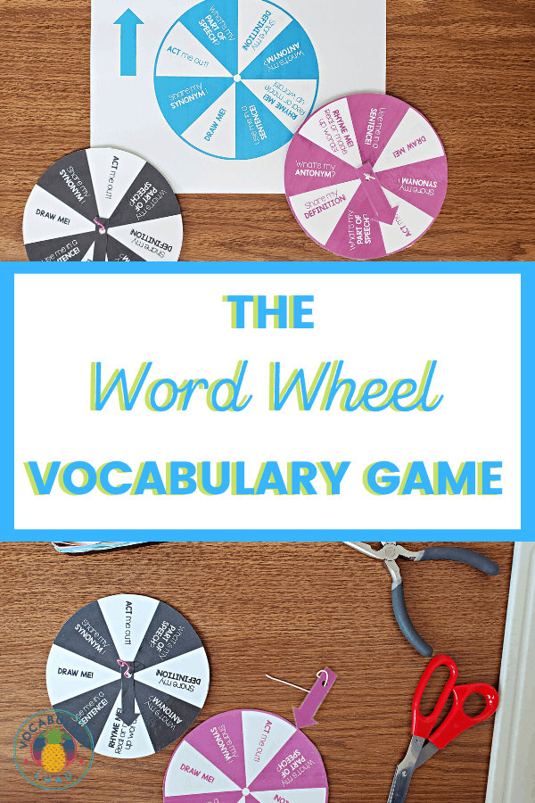 The Word Wheel Vocabulary Game