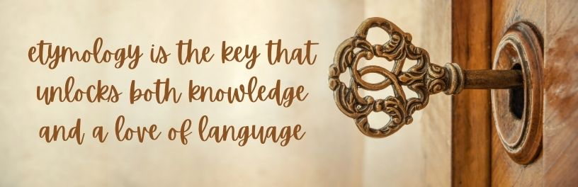 old key in lock and words etymology is the key that unlocks both knowledge and a love of language
