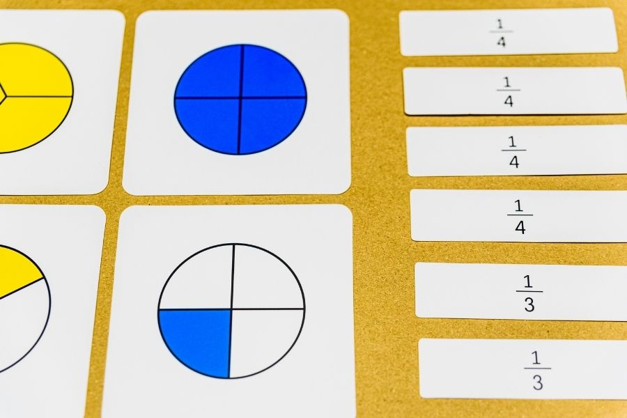 fraction diagrams
